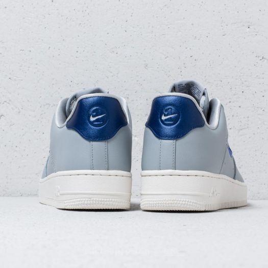 Nike Air Force 1 '07 LV8 Leather Wolf Grey Deep Royal Blue | Footshop