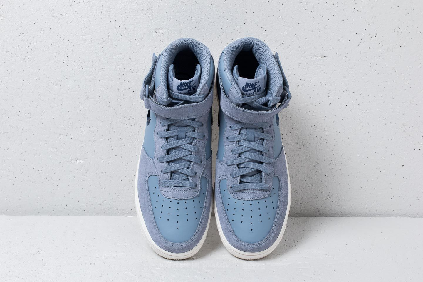 the latest a1b17 b3b3c ... new arrivals nike air force 1 mid 07 lv8 ashen slate blue void at a  great