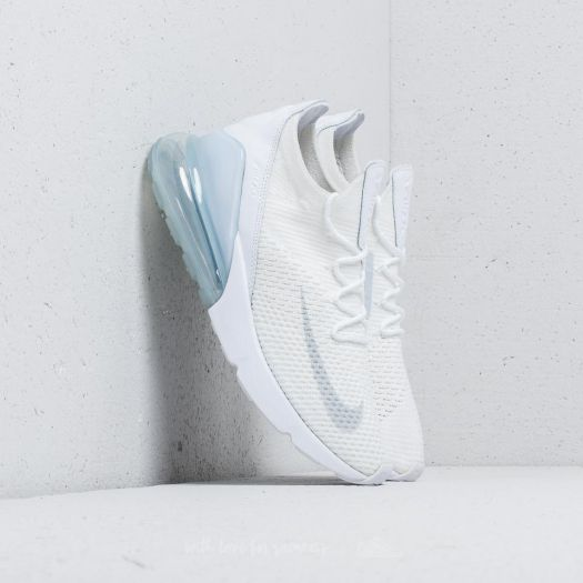 the latest 5351c fe3d8 Nike Air Max 270 Flyknit White/ Pure Platinum-White | Footshop