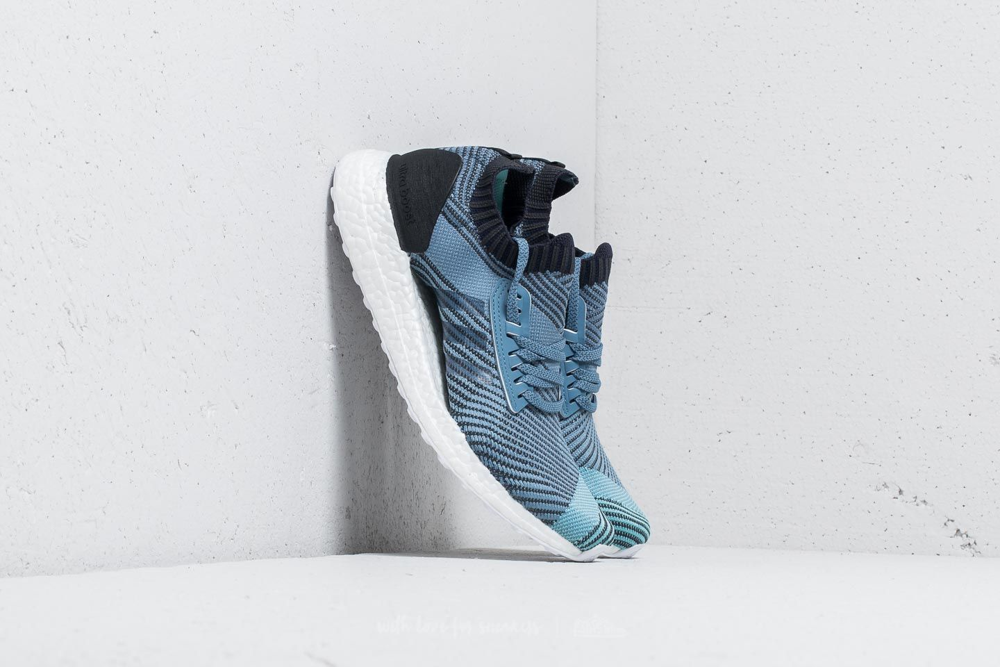 d3a69fe0e6c5d adidas x Parley Ultraboost X Raw Grey  Carbon  Legend Ink at a great price