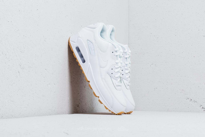 Nike Wmns Air Max 90 White/ White-Gum Light Brown