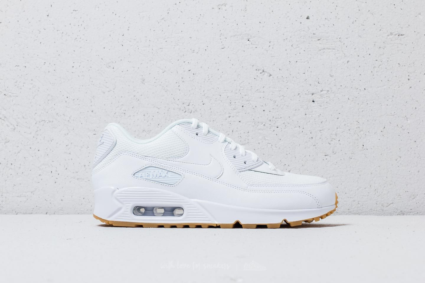 best service be9d2 88baf Nike Wmns Air Max 90 White  White-Gum Light Brown at a great price