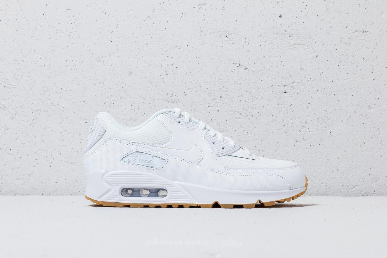 09e1d29316a2 Nike Wmns Air Max 90 White  White-Gum Light Brown at a great price