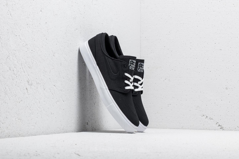 Nike SB Zoom Stefan Janoski CNVS Black/ Black-White za skvělou cenu 2 290 Kč koupíte na Footshop.cz
