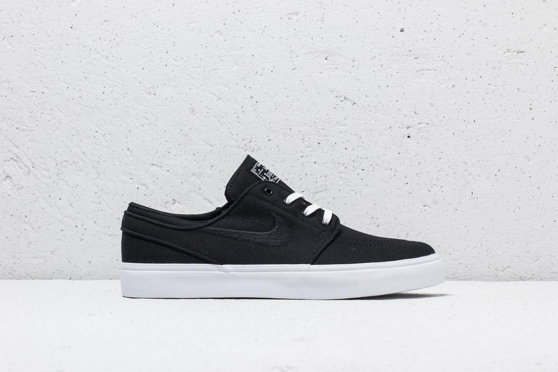 cheap for discount b5937 72633 Nike SB Zoom Stefan Janoski CNVS Black  Black-White at a great price 2