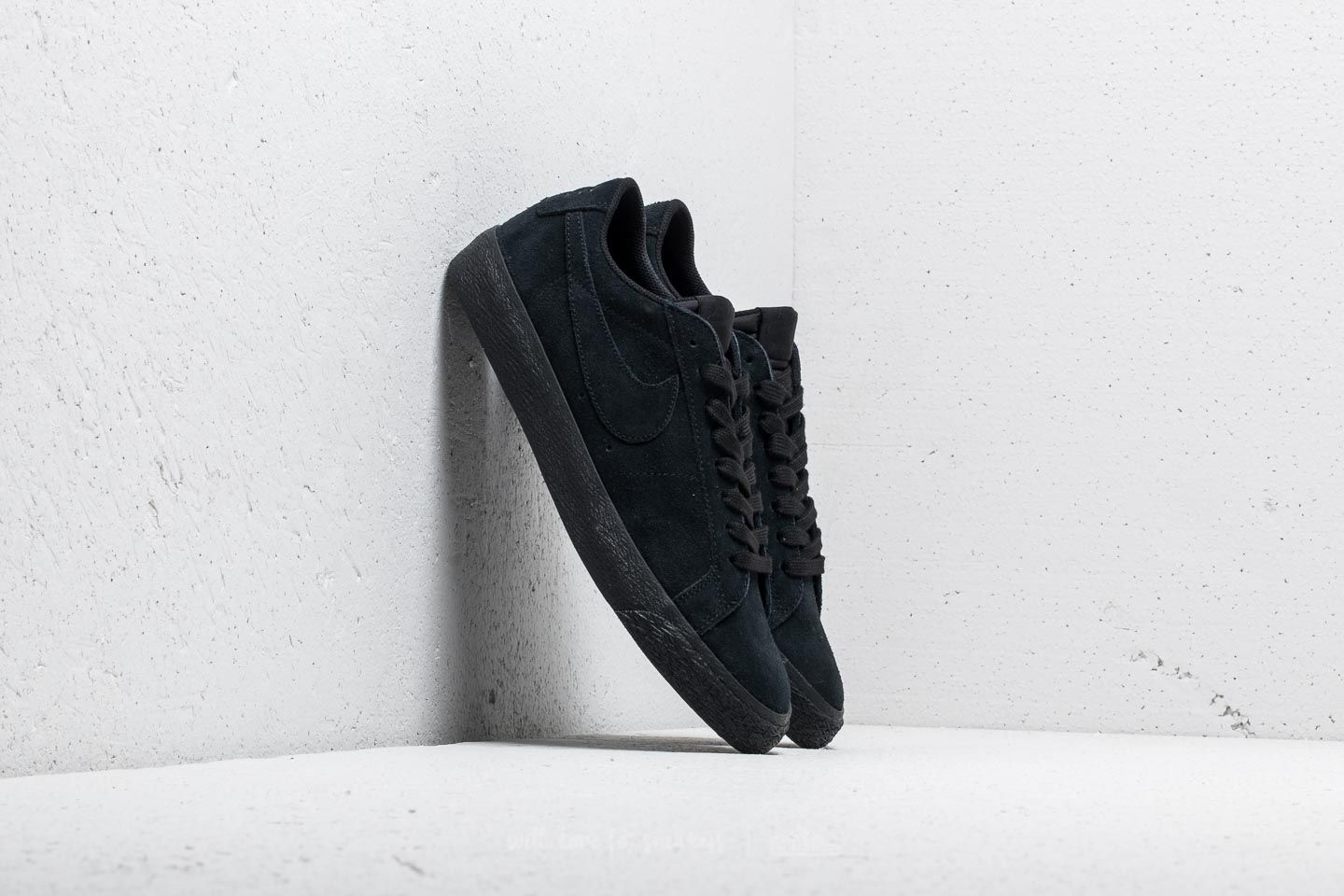factory price cbeef 50a6a Nike SB Zoom Blazer Low Black/ Black-Gunsmoke | Footshop