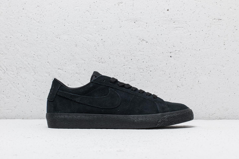 cheap for discount 94497 0b4af Nike SB Zoom Blazer Low Black  Black-Gunsmoke at a great price 88 €