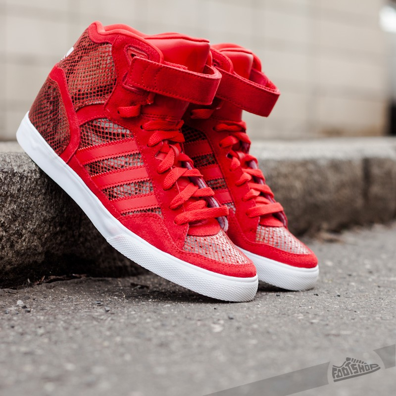 eea06a69aa1a adidas Extaball Up W Red White