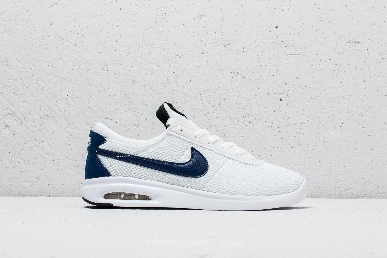 5e31e7d1135 Nike SB Air Max Bruin Vapor TXT White  Blue Void-Midnight Green at a