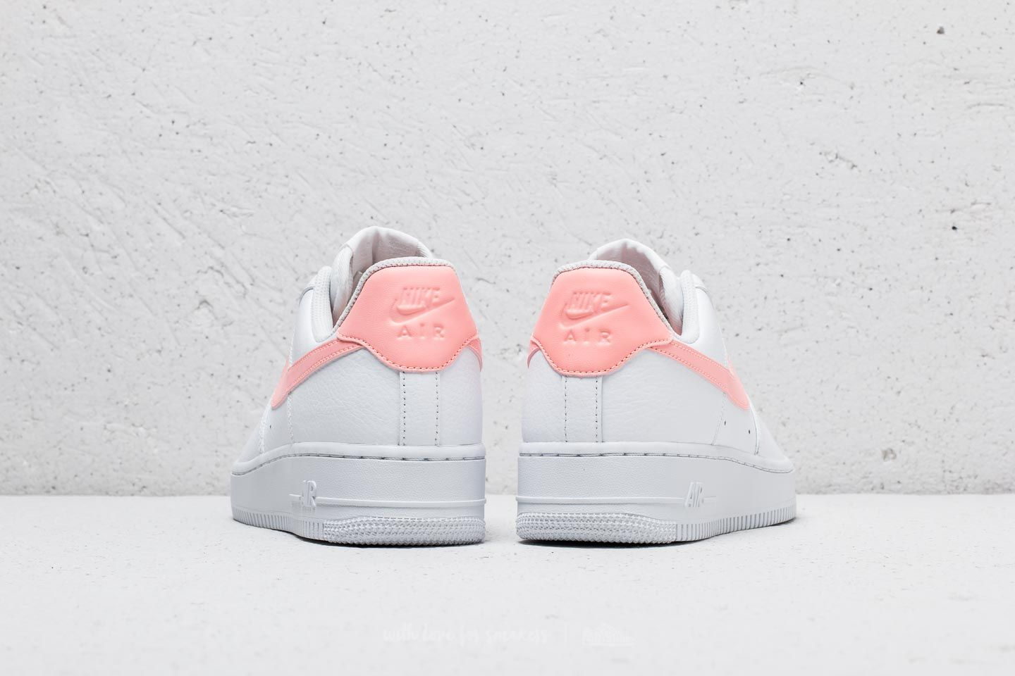 Nike Wmns Air Force 1 '07 White Oracle Pink White | Footshop