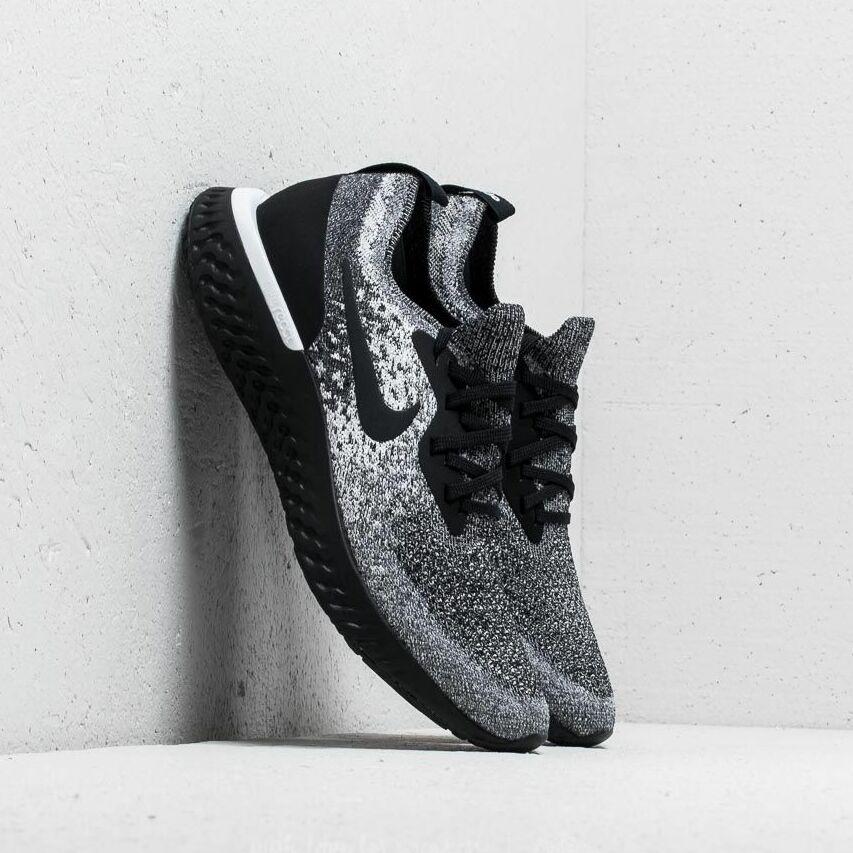 Nike Epic React Flyknit WMNS Black/ Black-White EUR 36.5