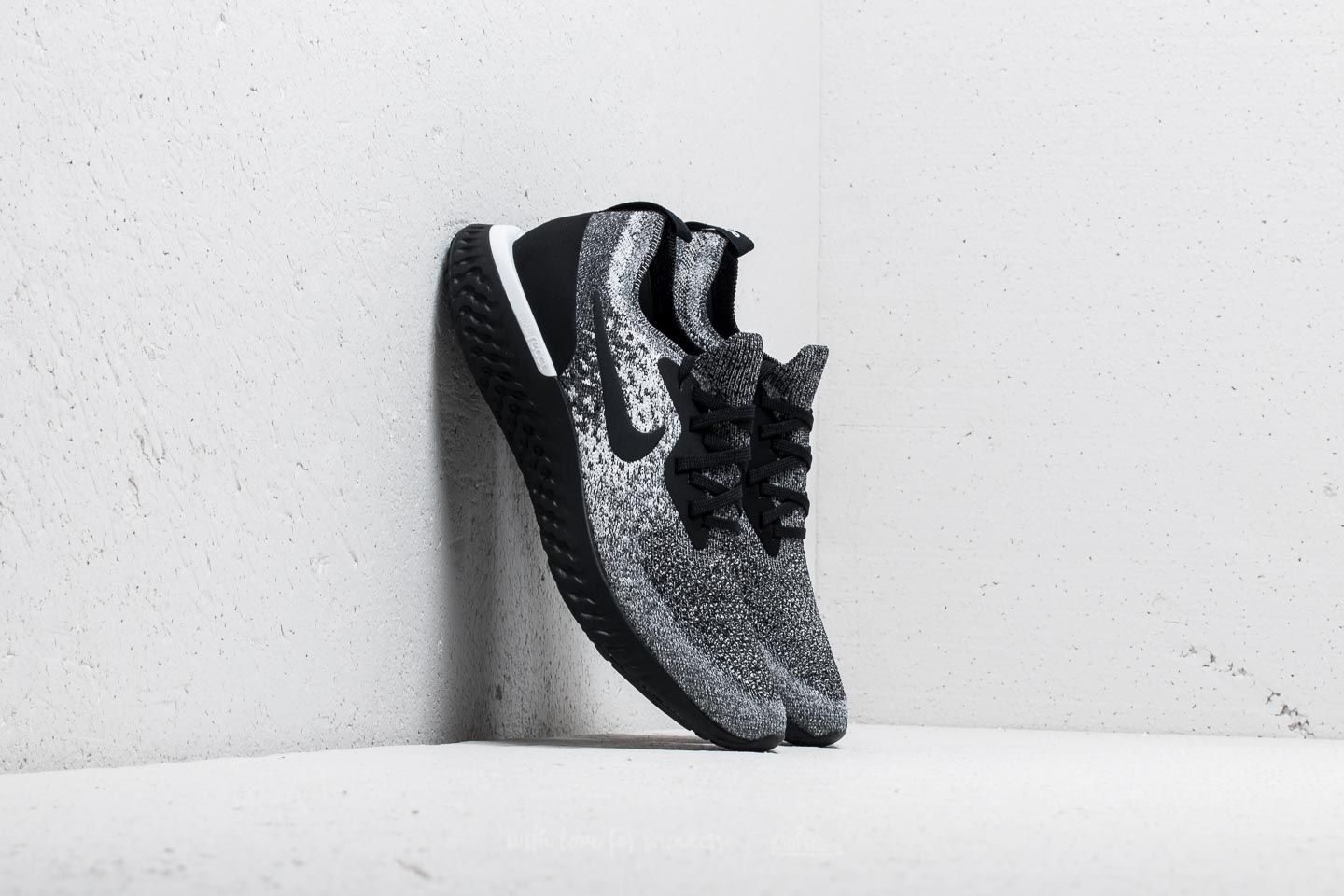 Nike Epic React Flyknit WMNS Black/ Black-White at a great price 103 € buy at Footshop