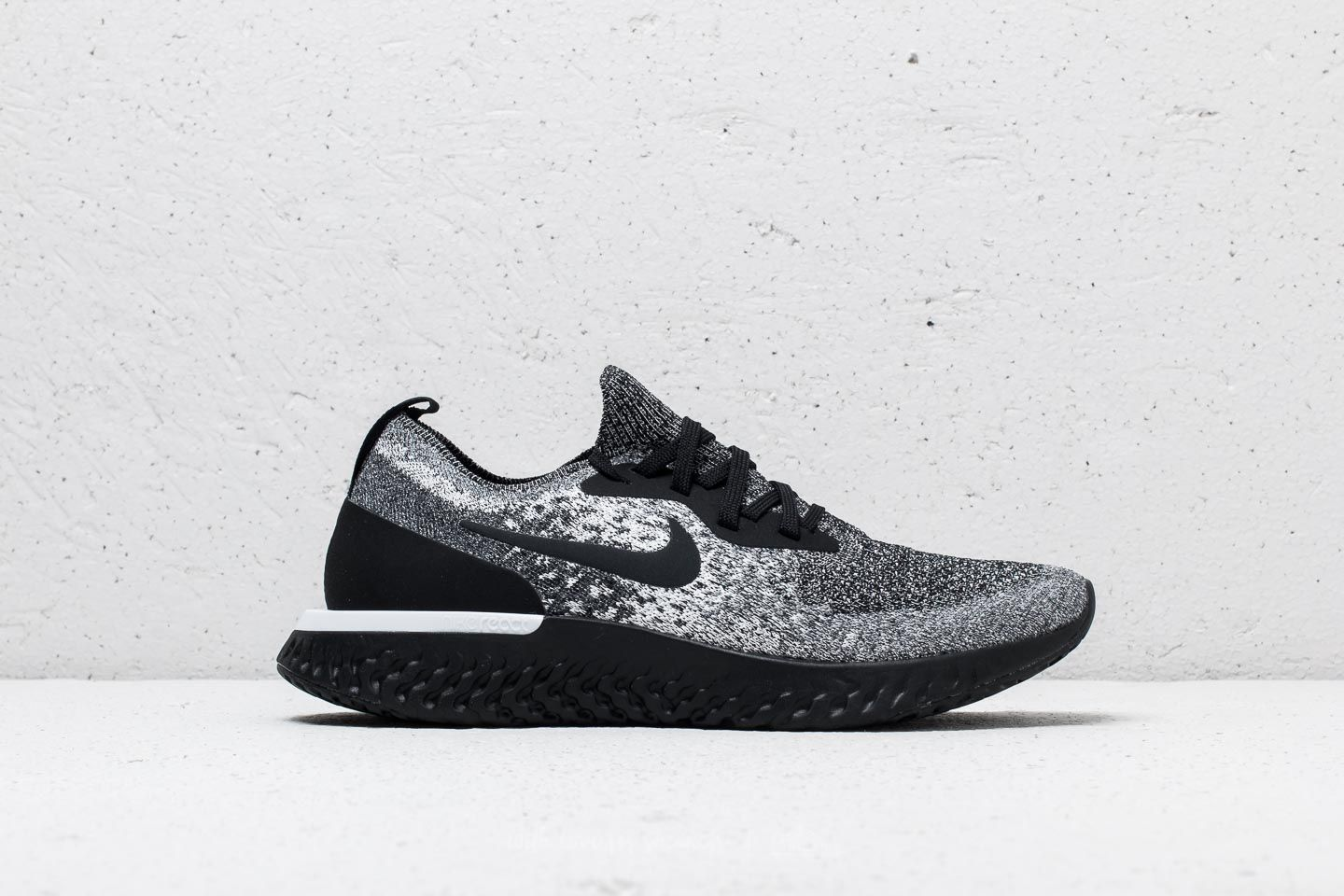0a05316fd82 Nike Epic React Flyknit WMNS Black  Black-White at a great price 147 €