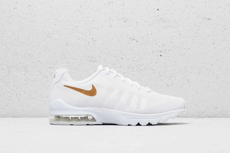Nike Air Max Invigor (GS) White Metallic Gold Footshop  Footshop
