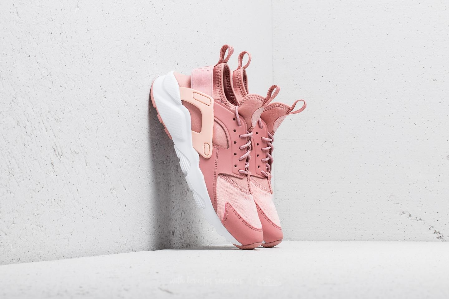5af618b59f1a Nike Air Huarache Run Ultra SE (GS) Rust Pink  Storm Pink-White ...