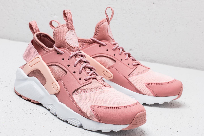2518c4cc5042 ... Nike Air Huarache Run Ultra SE (GS) Rust Pink Storm Pink-White ...