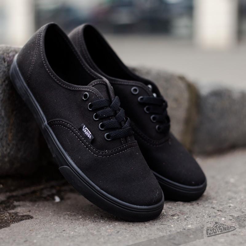 369229d7e50 Vans Authentic Lo Pro Black  Black