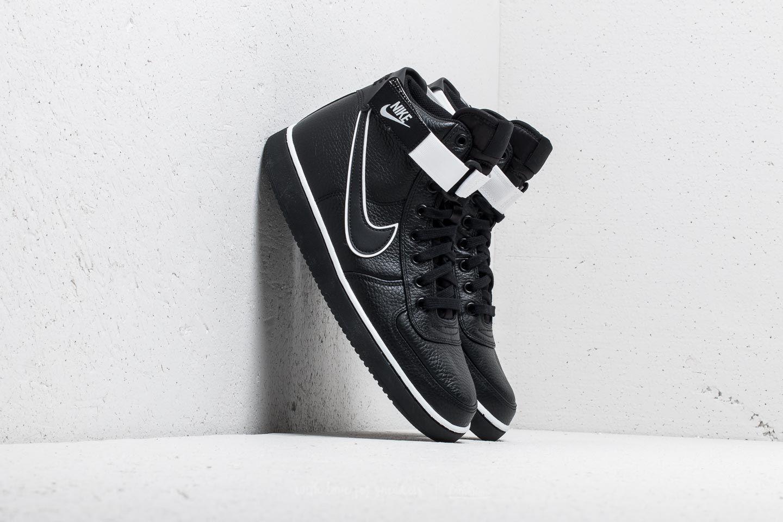 Nike Vandal High Supreme Leather Black  Black-White  6048bbff99a3