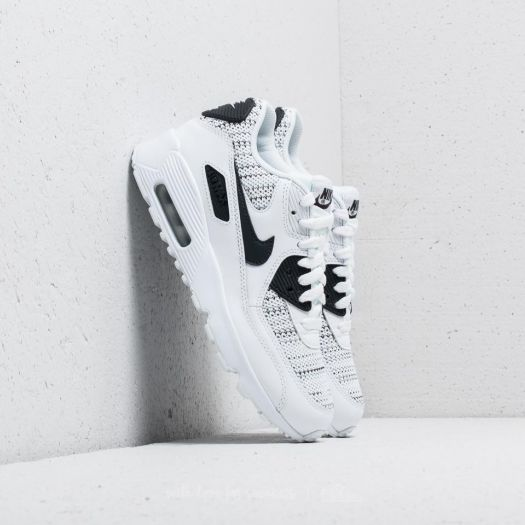 Nike Air Max 90 Mesh SE (GS) White Anthracite Cool Grey