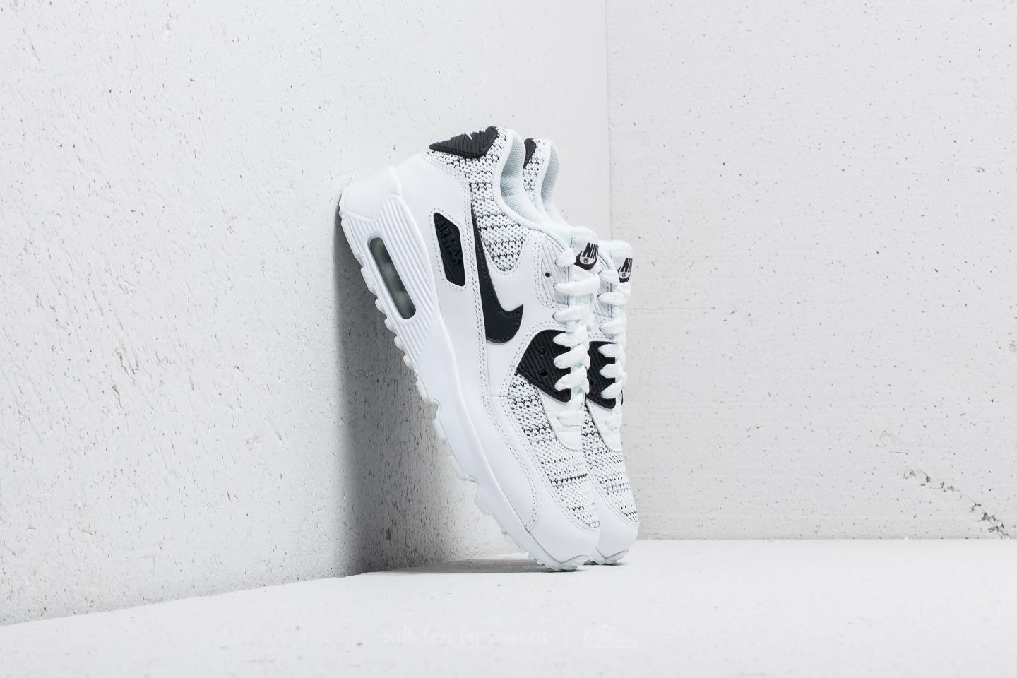 Nike Air Max 90 Mesh SE (GS) White/ Anthracite-Cool Grey