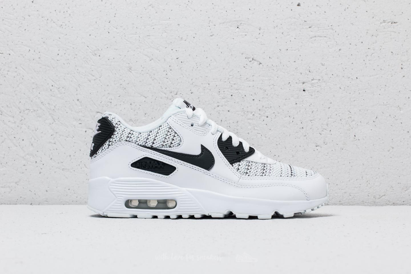 meilleur site web ce9c8 5179c Nike Air Max 90 Mesh SE (GS) White/ Anthracite-Cool Grey ...