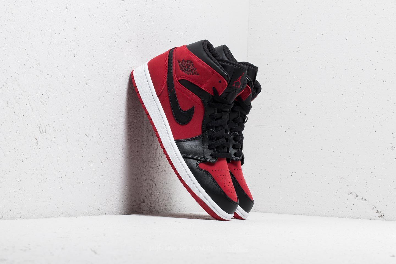 8ae4ea00b851e6 Air Jordan 1 Mid Gym Red  Black-White