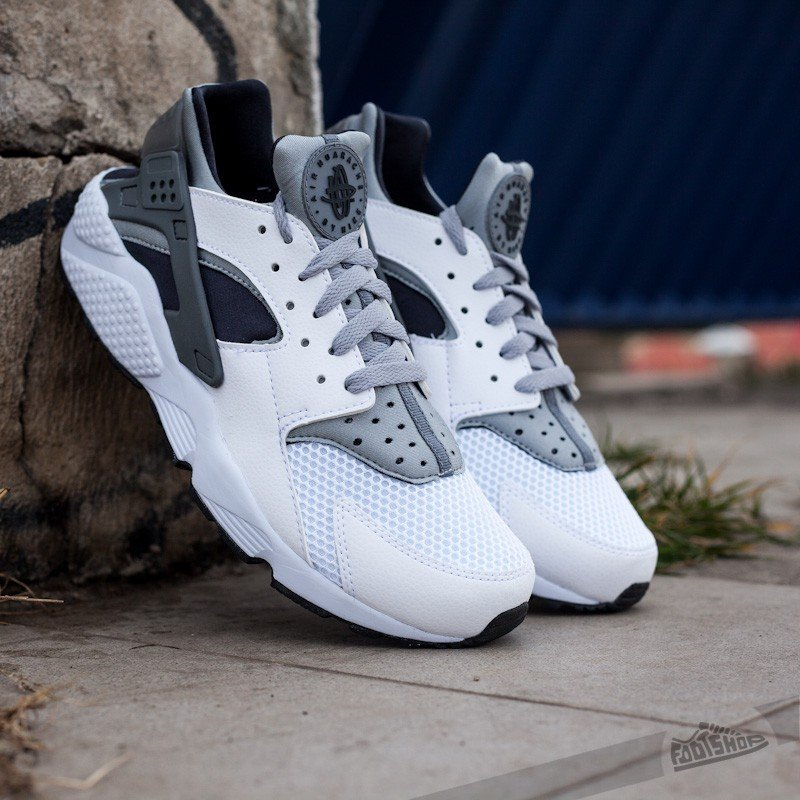 newest collection 99acf 5bb8c Nike Air Huarache WhiteWolf Grey-Black