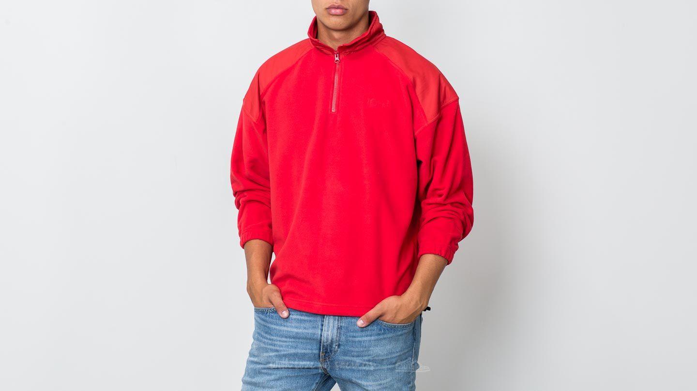 Polar Skate Co. Lightweight Fleece Pullover Red za skvělou cenu 1 500 Kč koupíte na Footshop.cz