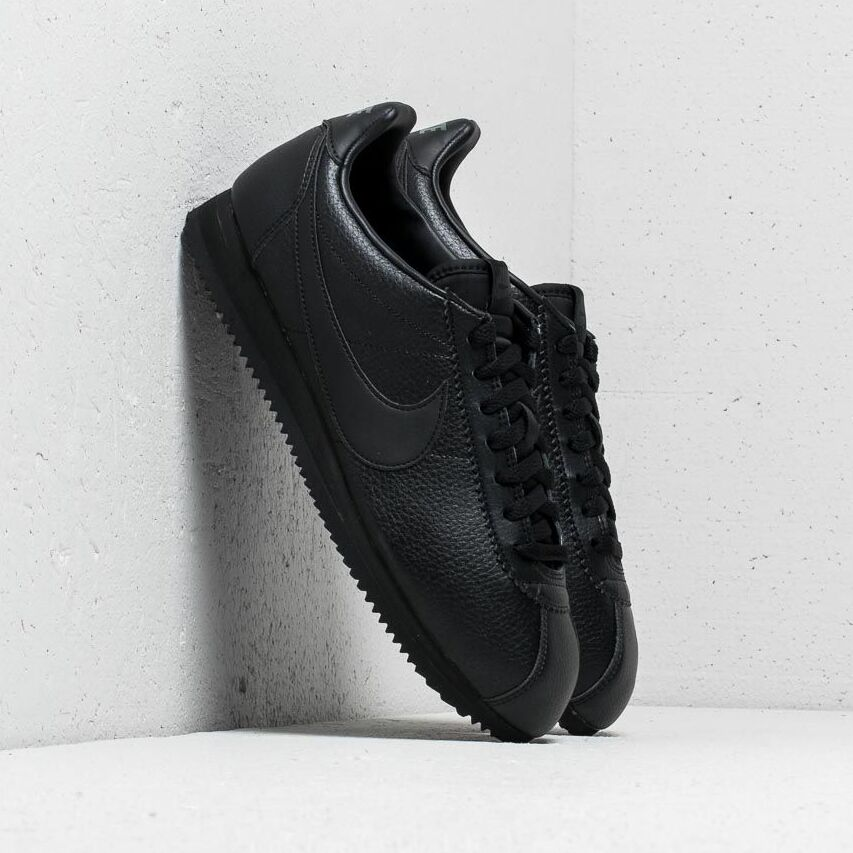 Nike Classic Cortez Leather Black/ Black-Anthracite EUR 47.5