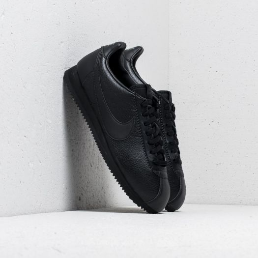 half off 67ac0 14b11 Nike Classic Cortez Leather Black/ Black-Anthracite | Footshop
