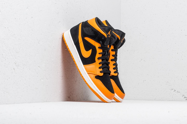 7d895e87a71 Air Jordan 1 Mid Black/ Orange Peel-Sail | Footshop