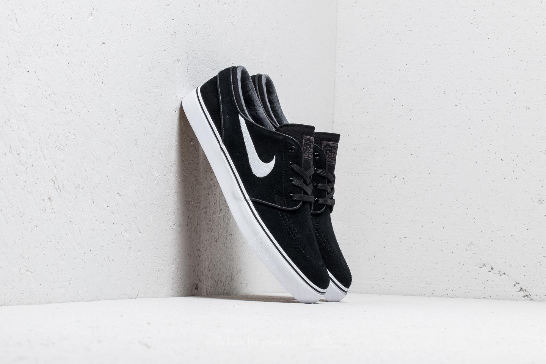 73c84d84f35f42 Nike Zoom Stefan Janoski. Black  White-Thunder Grey-Gum Light Brown