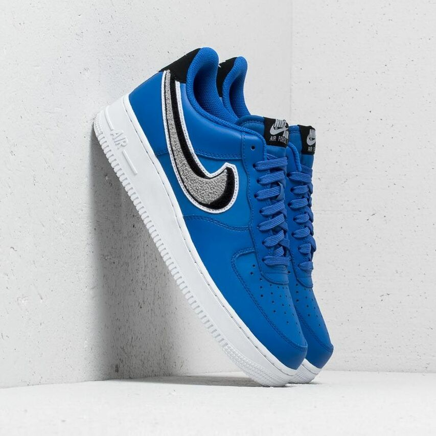 Nike Air Force 1 '07 LV8 Game Royal/ Wolf Grey-Black EUR 42