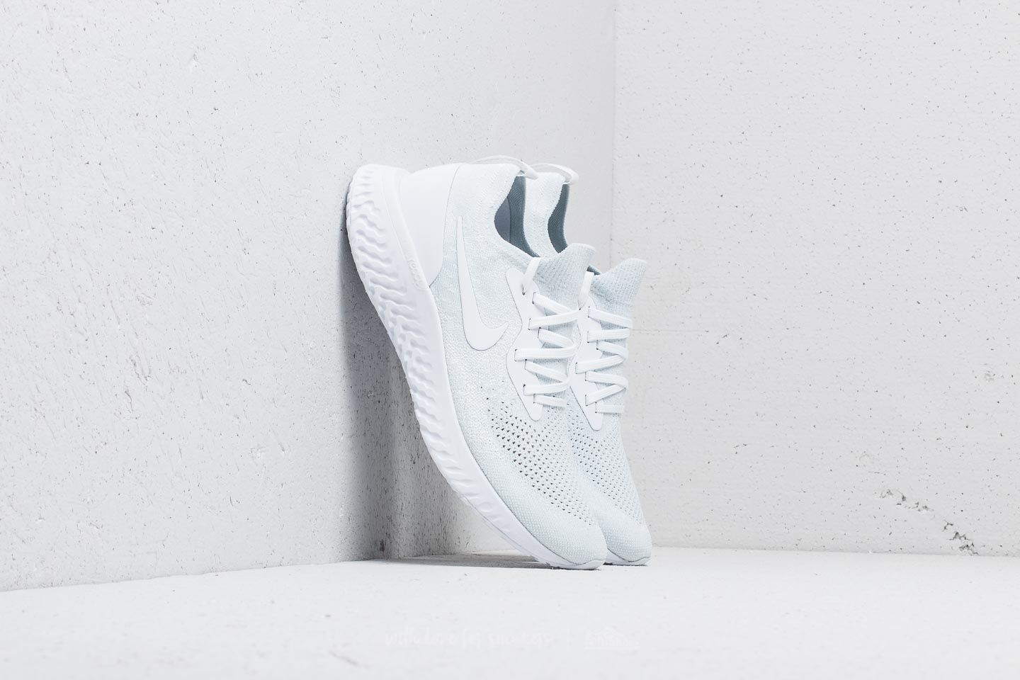 Nike Epic React Flyknit True White/ White-Pure Platinum at a great price 118 € buy at Footshop