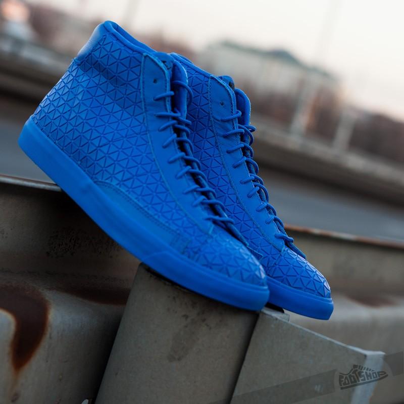 Men S Shoes Nike Blazer Mid Metric Qs Royal Blue Footshop