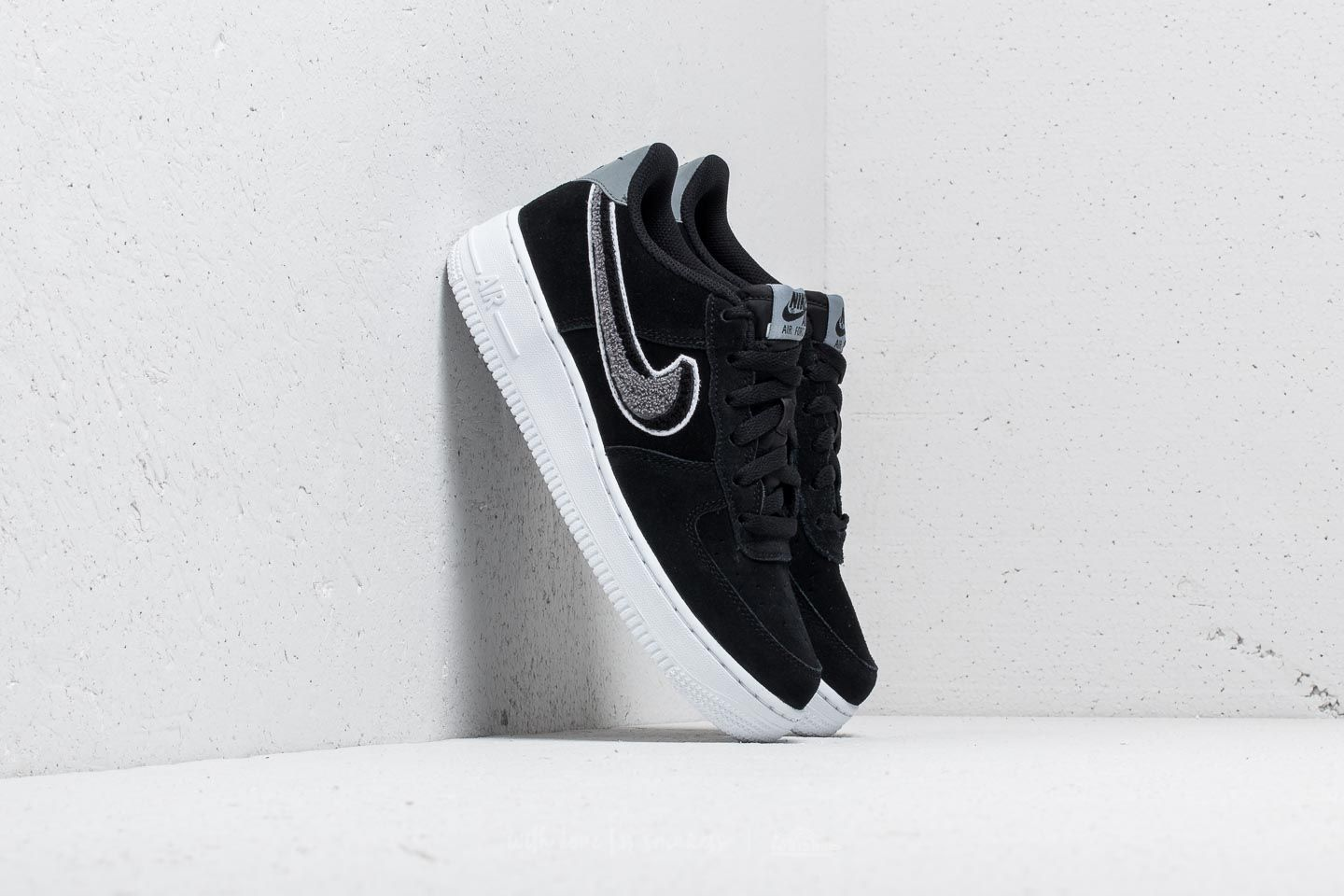cheap for discount c3d97 89401 Nike Air Force 1 LV8 (GS). Black  White-Cool Grey