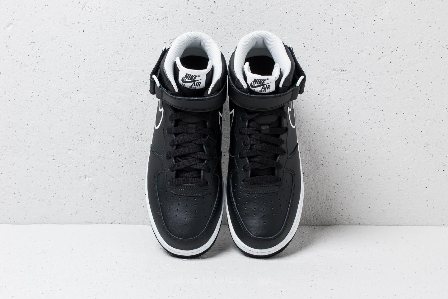 '07 Leather Nike Force Black WhiteFootshop 1 Mid Air NmOyv80wn