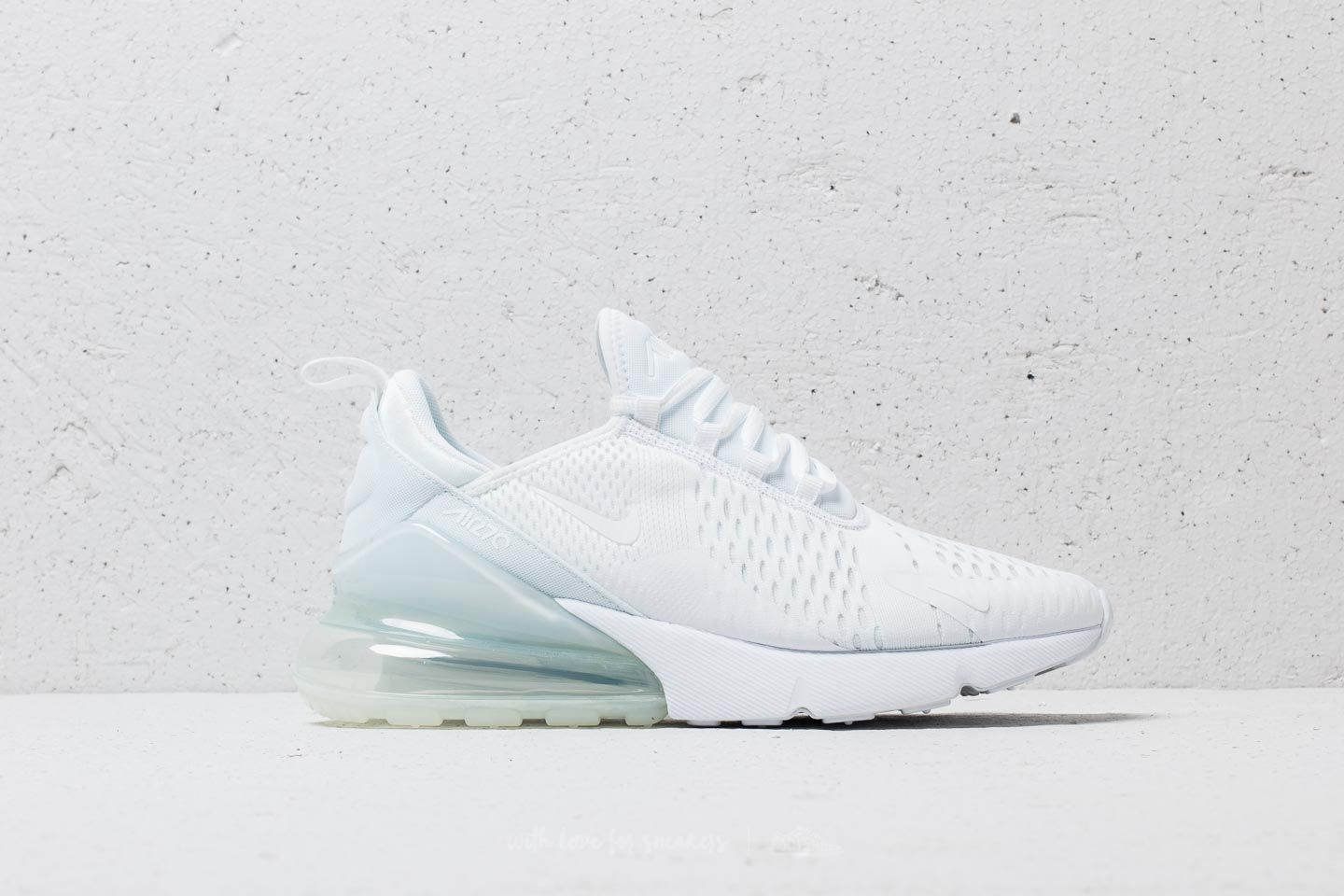 best website 9973e d6a21 Nike Air Max 270 White/ White-White | Footshop
