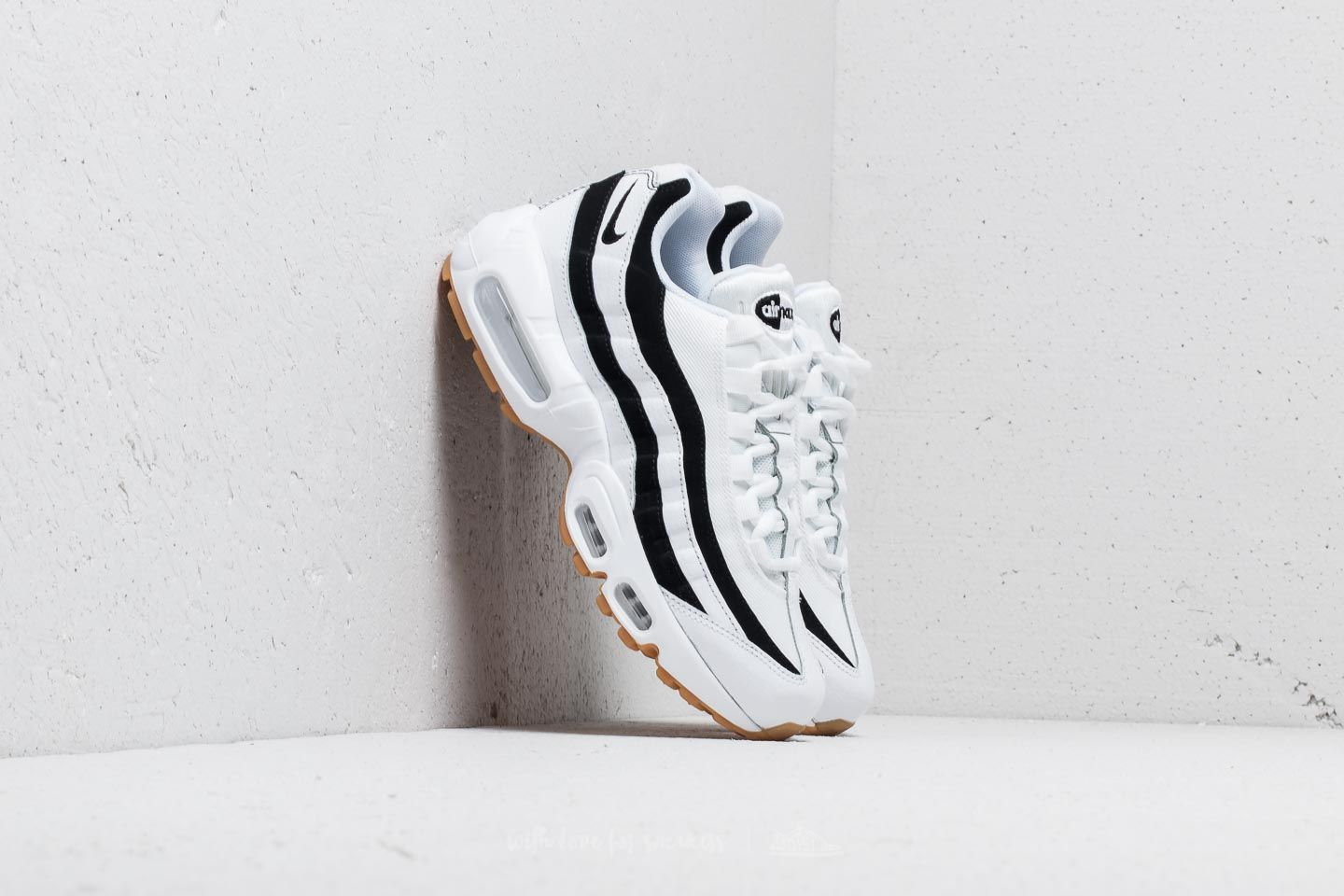 100% authentic 742e7 e0db9 Nike Wmns Air Max 95 White  Black-Gum Light Brown at a great price