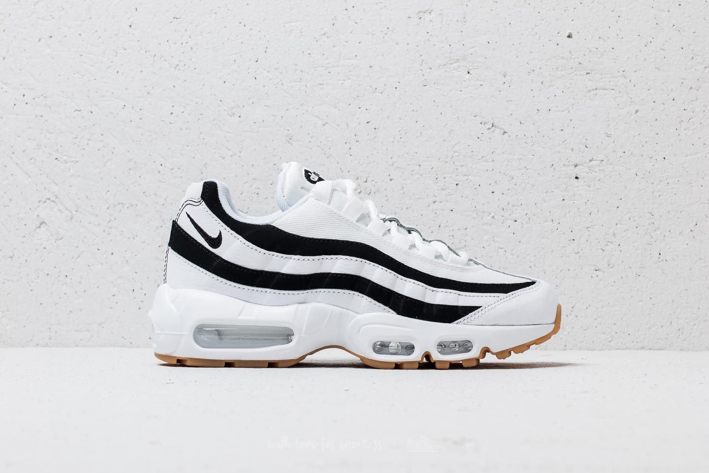 Nike Wmns Air Max 95 White  Black-Gum Light Brown at a great price 93acc32776