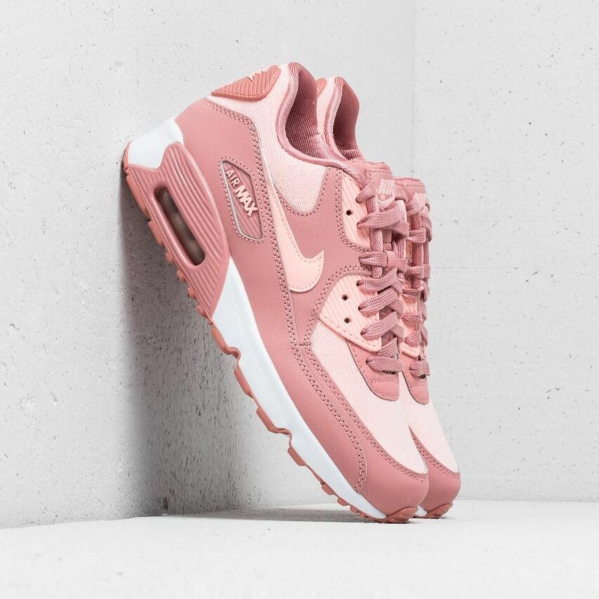 Nike Air Max 90 SE Mesh (GS) Rust Pink/ Storm Pink-Guava Ice EUR 38