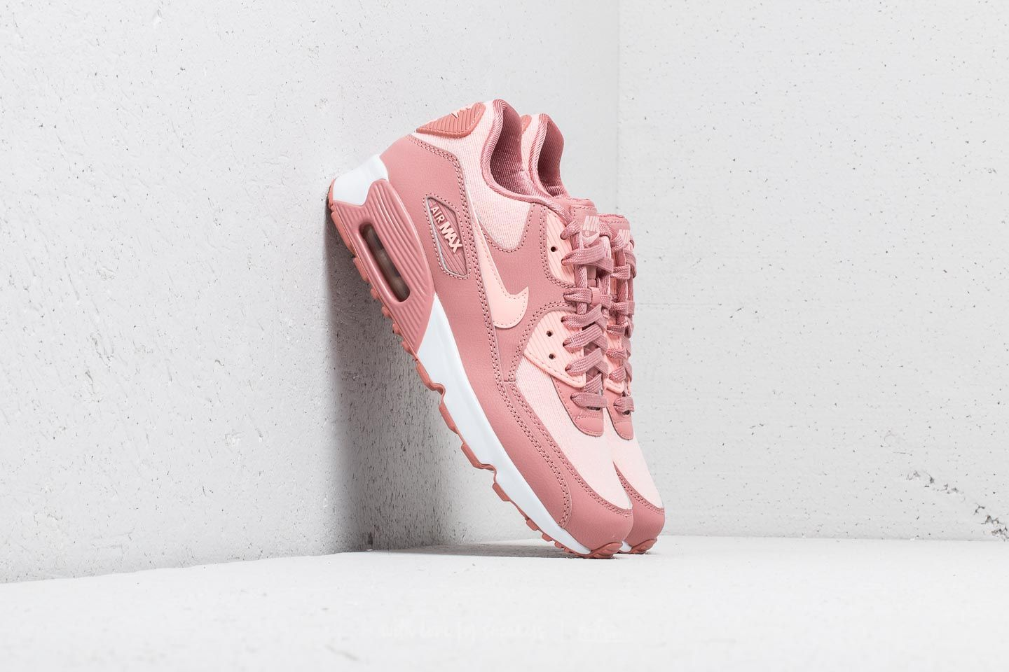 newest collection 6f15c ed6cd Nike Air Max 90 SE Mesh (GS) Rust Pink  Storm Pink-Guava