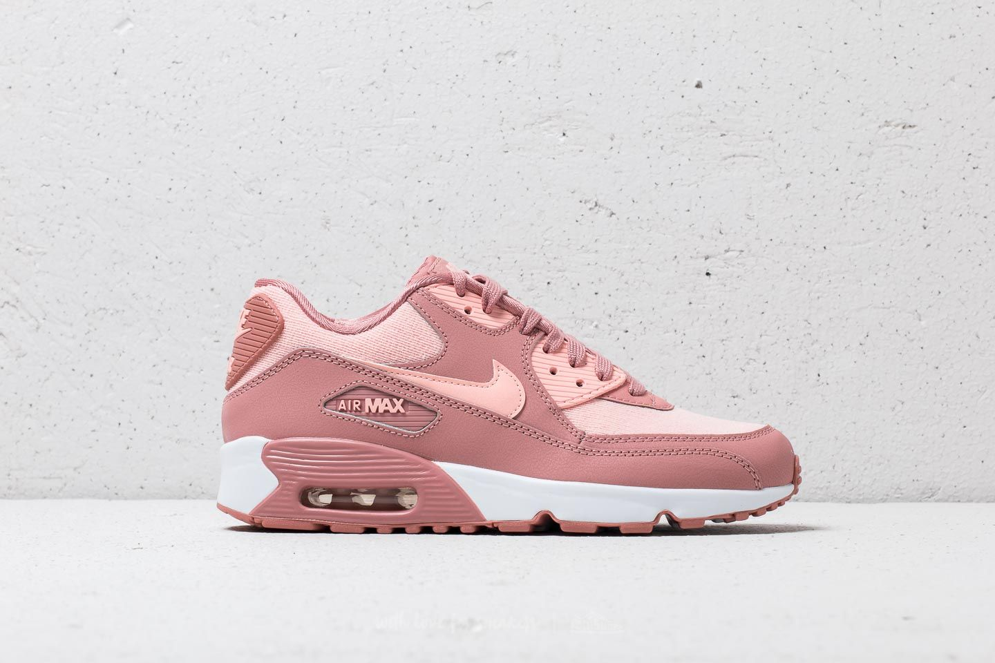 newest collection 22d72 b8d62 Nike Air Max 90 SE Mesh (GS) Rust Pink  Storm Pink-Guava