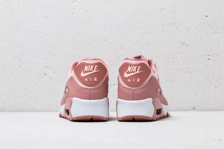 Nike Sportswear Junior Shoes Air Max 90 SE Mesh Rust Pink