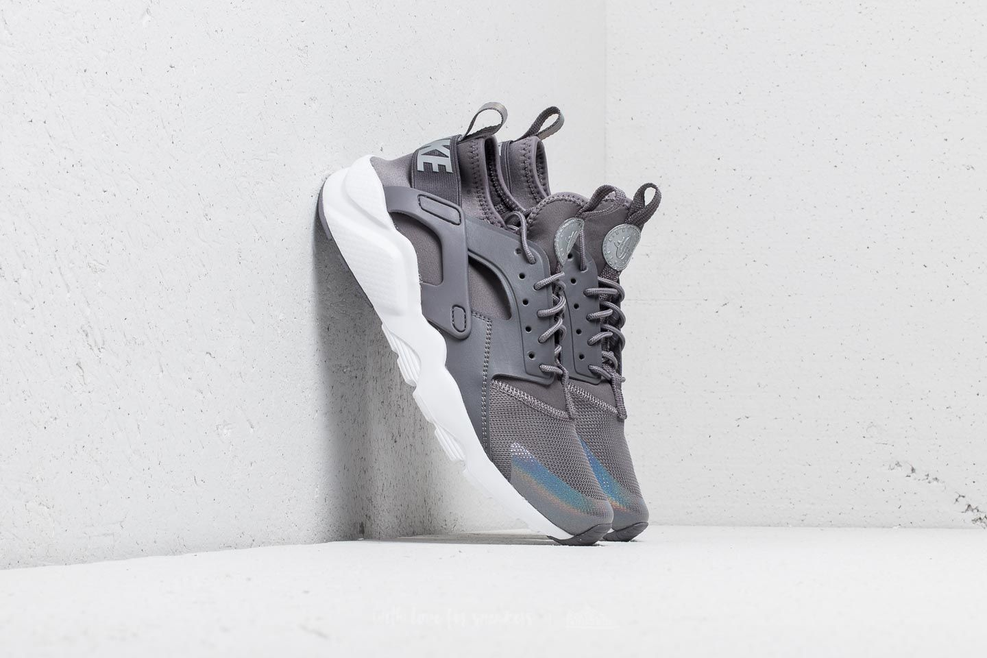 Nike Air Huarache Run Ultra GS Gunsmoke/ Gunsmoke