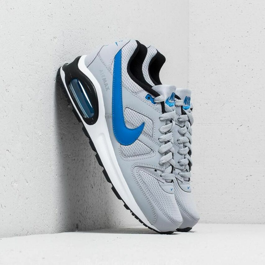 Nike Air Max Command Flex (GS) Wolf Grey/ Signal Blue-Black EUR 37.5