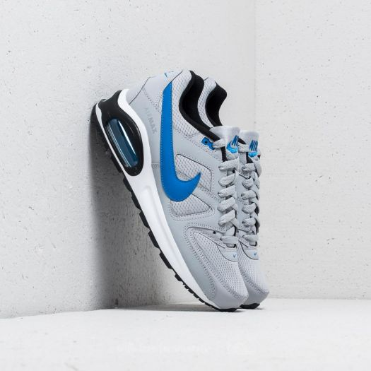 hacha Eléctrico menos  Women's shoes Nike Air Max Command Flex (GS) Wolf Grey/ Signal Blue-Black |  Footshop