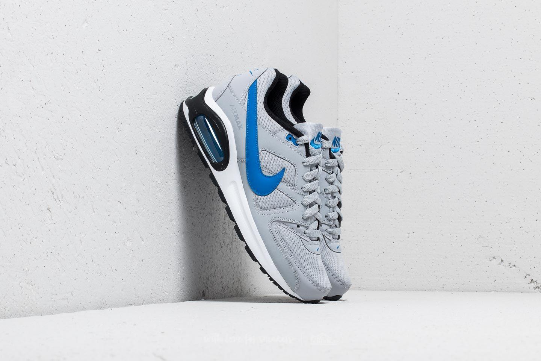 Nike Air Max Command Flex (GS) Wolf Grey Signal Blue Black | Footshop