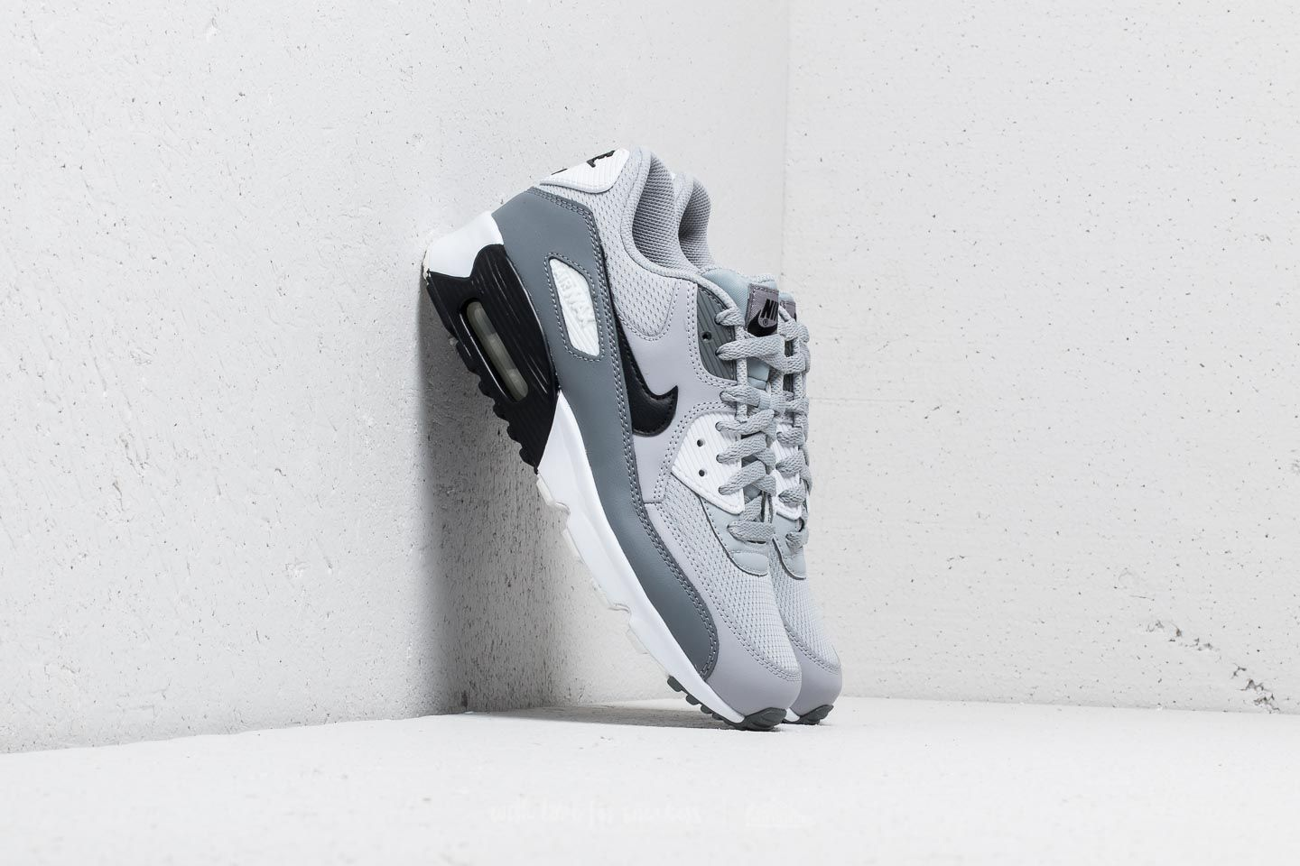 Nike Air Max 90 Mesh (GS) Wolf Grey/ Black-Cool Grey