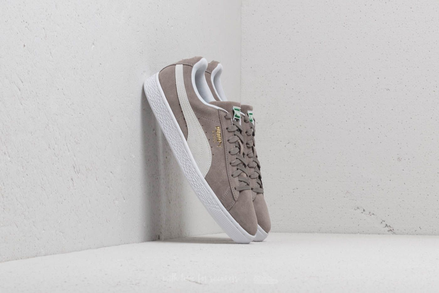 new product 70fb9 5beef Puma Suede Classic+ Steeple Gray/ White | Footshop